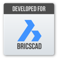Developed for Bricscad